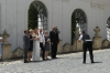 One of many wedding parties around Mikulovo Chateau CZ