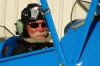 Bruce, ready to fly in the Tiger Moth