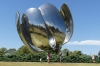 Floralis Genérica (flower sculpture), Plaza Naciones Unidas (United Nations Park), Buenos Aires AR
