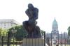 Rodin's Thinker, Plaza del Congreso, Buenos Aires AR