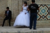Bride at the Nadir Divanbergi Madressa