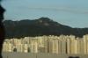 Korean high rise, driving into Busan