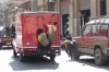 School boys ride the truck, Old Cairo EG