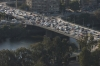 View from the Cairo Tower - traffic