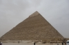 Pyramids of Giza, second largest is Pyramid of Khephren
