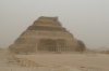 Step Pyramid of Sakkara, built for King Djoser approx 2700BC