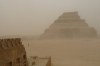 Step Pyramid of Sakkara, built for King Djoser approx 2700BC, Giza EG