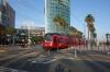 Tram stop, San Diego CA USA