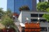 Angel's Flight cable car, Los Angeles CA USA