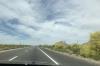 Everchanging scenery from Tucson AZ to San Diego CA USA