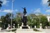Parque Ignacio Agramonte, hero of Camaguey CU