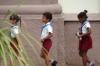 School children in Plaza de los Trabajadores, Camaguey