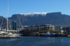 Table Mountain from V&A waterfront, Cape Town, South Africa