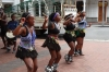 Young African dancers, Cape Town, South Africa