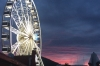 Cape Wheel at Victoria Wharf, South Africa at sunset