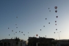 Balloons take off early in the morning in Göreme