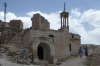 Islamic Curch was shared by Turkish Muslims and Greek Catholics, Çavuşin Old Village, Cappadocia
