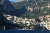 Positano, from the cruise boat, Amalfi Coast