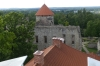 View from the New Castle in Cēsis LV