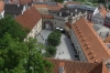 Cesky Krumlov from the Castle Tower