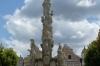 18th-century Marian Column in Zachariáš of Hradec Square, Telč CZ