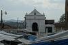 Iglesia Santo Tomas and market stalls