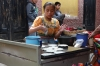 Making tortillas. Market day in Chichicastenango GT