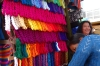 Colourful threads. Market day in Chichicastenango GT