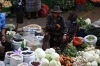 Fruit and vegetable market. Market day in Chichicastenango GT