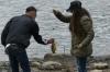 Fishing. A walk around Laguna da Busa (lake) EC