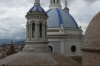 From the viewing platform of the Metropolitan Cathedral (1885), Cuenca EC
