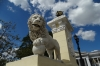 Lion's gate to Parque Jose Marti