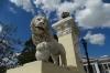 Lion's gate to Parque Jose Marti, Cienfuegos CU
