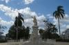 Statue of local hero Jose Marti, Cienfuegos CU