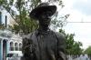 Statue of Benny More in Cienfuegos CU