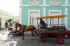 Horse drawn taxi in Cienfuegos