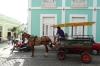 Horse drawn taxi in Cienfuegos CU
