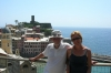 Bruce and Thea at Vernazza IT