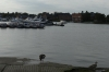 Oulton Broad near Lowestoft UK