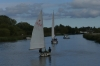Bure River and Wroxham Broads, Norfolk UK