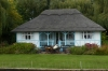 Best of the houses on the Bure River, Norfolk UK