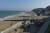 The waterfront at Cromer on Norfolk Coast UK