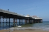 Pavilion Pier at Cromer on Norfolk Coast UK