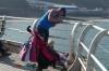 'Crabbing' at Cromer on Norfolk Coast UK