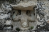 On top of the Nohoch Mul pyramid. Ancient Ruins of Coba