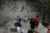 Steep climb to Nohoch Mul pyramid. Ancient Ruins of Coba