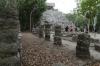 Temple in the Conjunto Pinturas. Ancient Ruins of Coba