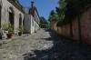 Spanish street (gutter on sides + sidewalk), Colonia del Sacramento UY