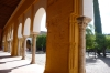Courtyard of the Arabic decoration preserved in the Mezquite Catedral (Mosque Cathedral), Córdoba