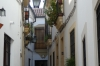 Narrow streets of Córdoba